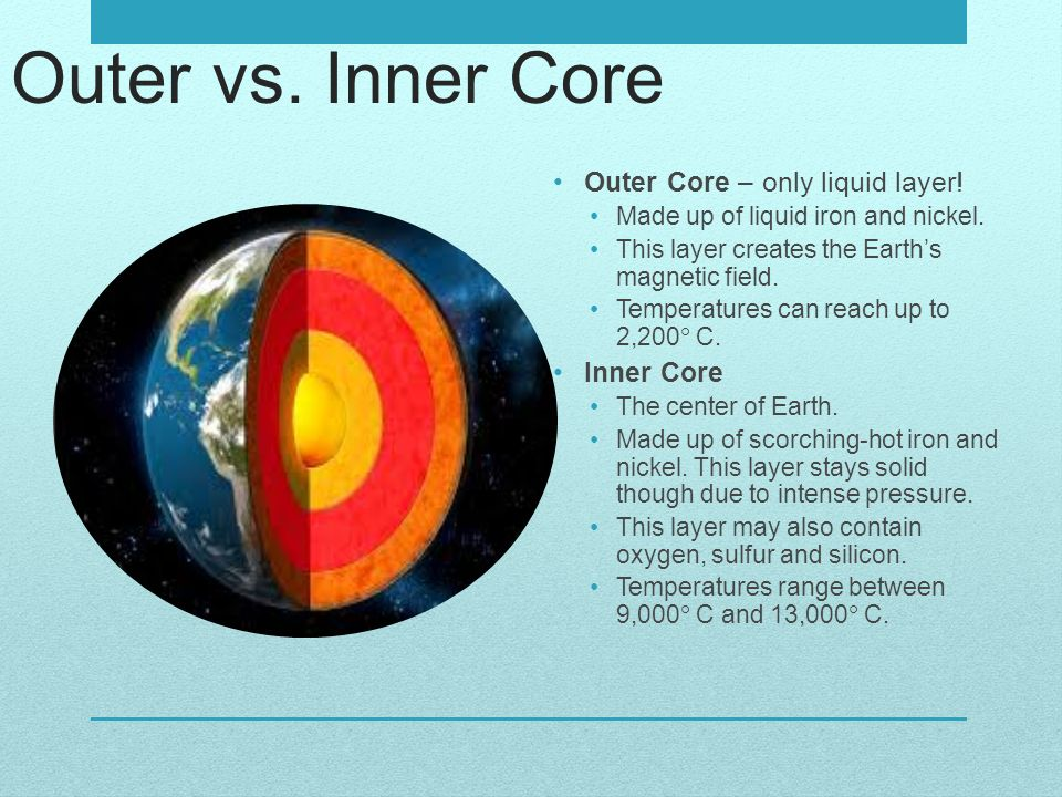 Earth's Layers Geology Unit. - ppt video online download