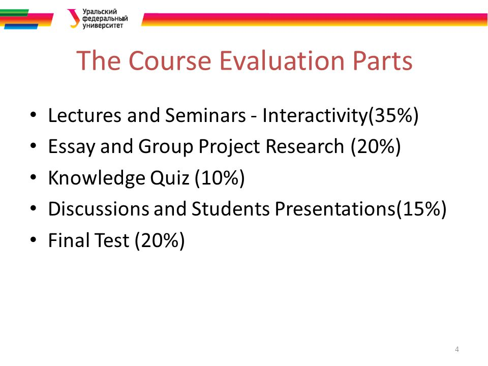 corporate social responsibility in energy industry ppt video 4 the course evaluation parts