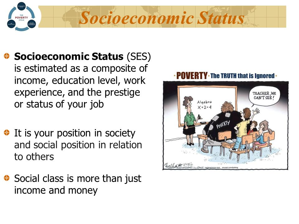 what might the socio economic status High socioeconomic status increases who typically might not be thought of as being at increased high socioeconomic status increases discrimination.