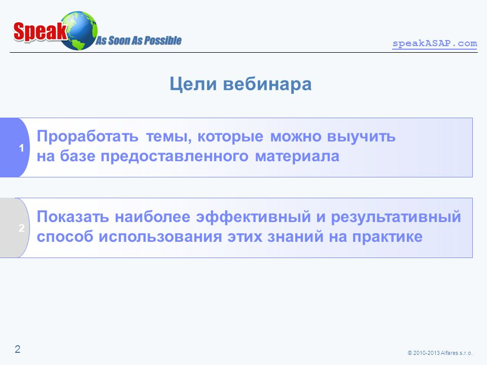 Цели вебинара Проработать темы, которые можно выучить