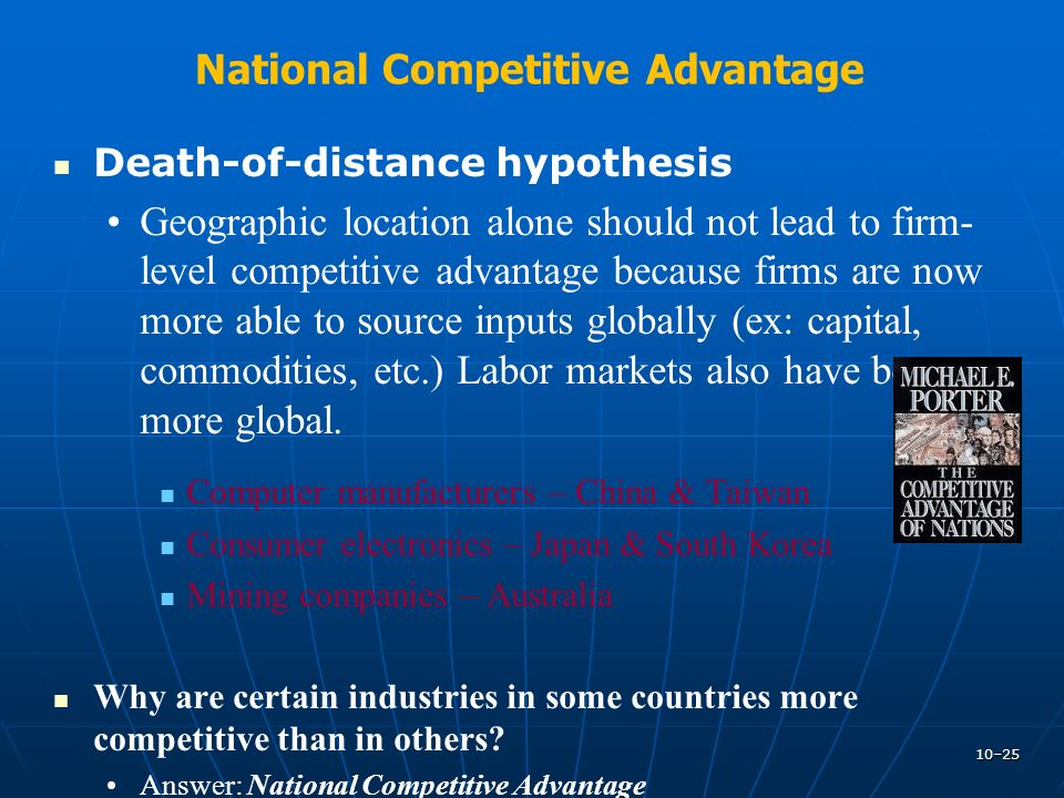 china competitive advantage of nations pdf