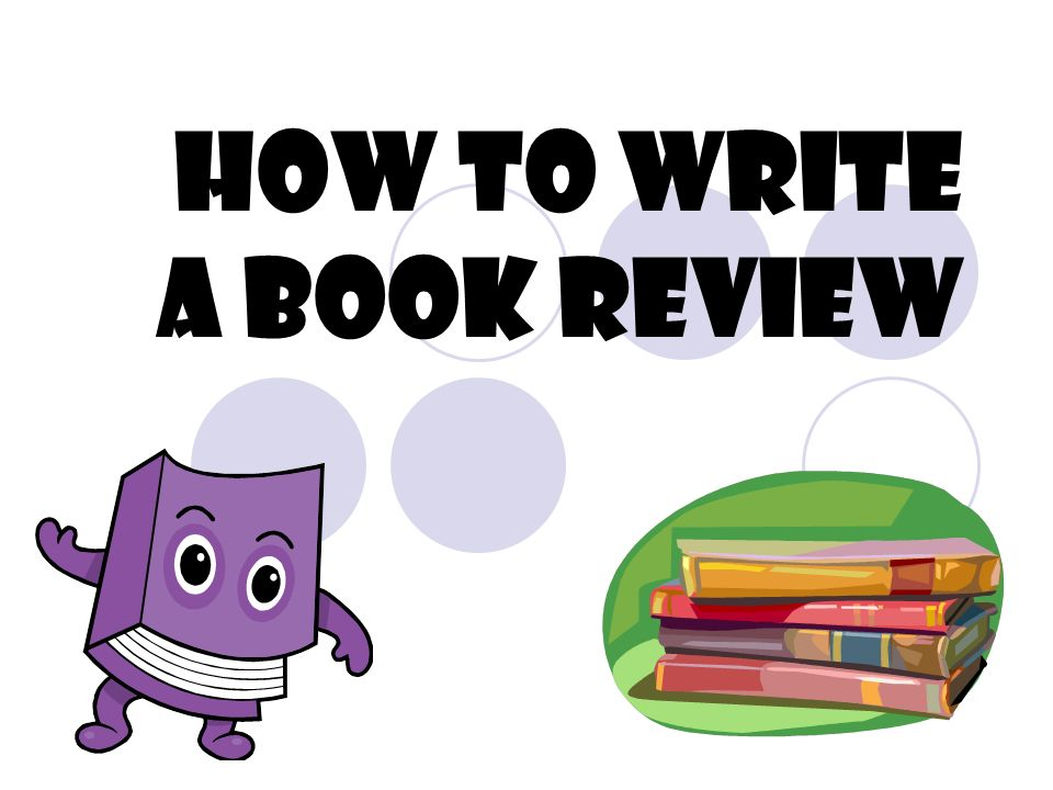 how to write a book review recommendation