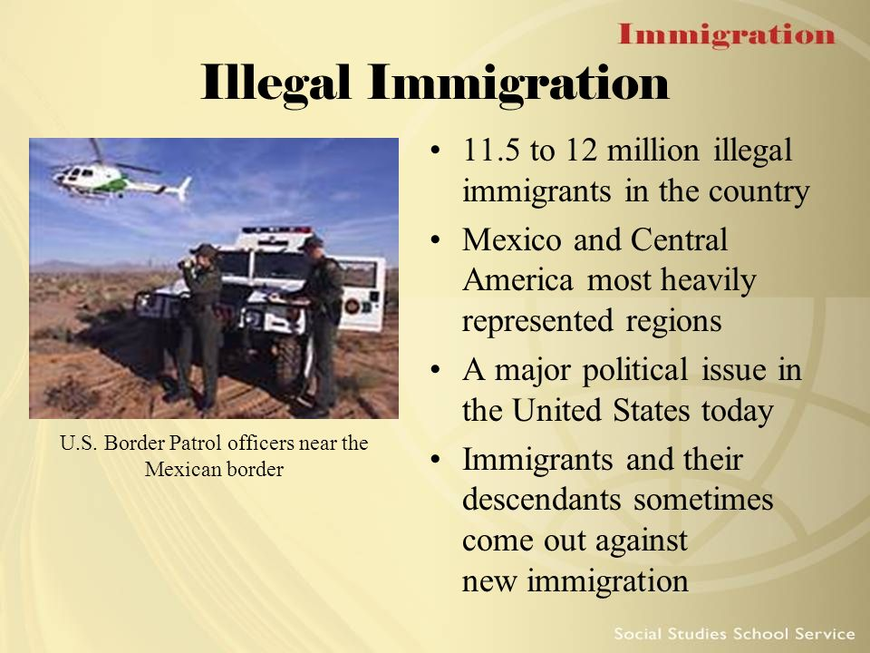 an overview of the united states phenomena of illegal immigration The united states experienced major waves of immigration during the colonial era, the first part of the 19th century and from the 1880s to 1920 many immigrants came to america seeking greater .