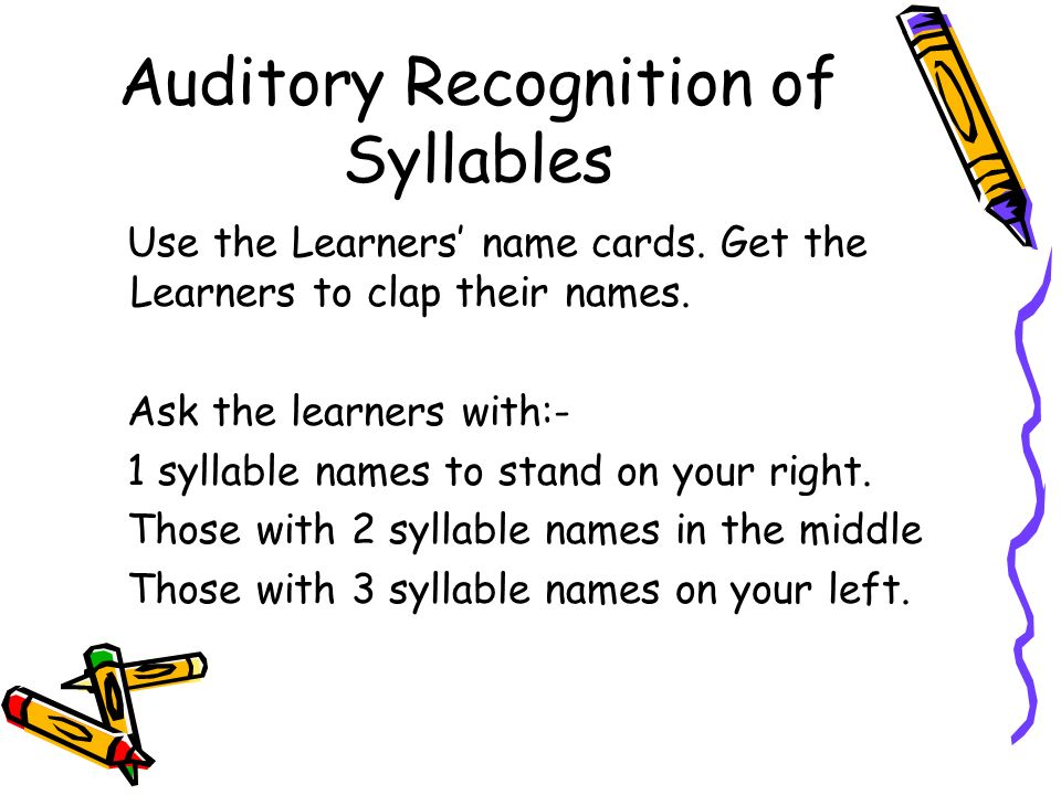 Presentation by olive douglas to the national department for Single syllable middle names