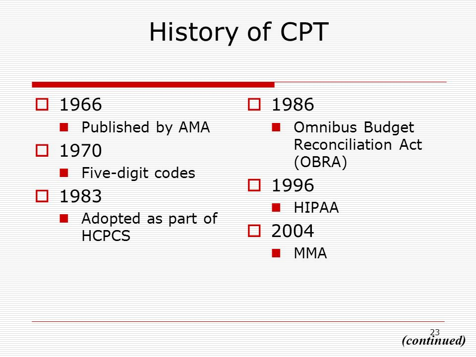 Chapter 7: HCPCS Level II National Coding System - ppt  of Cpt codes are considered hcpcs codes