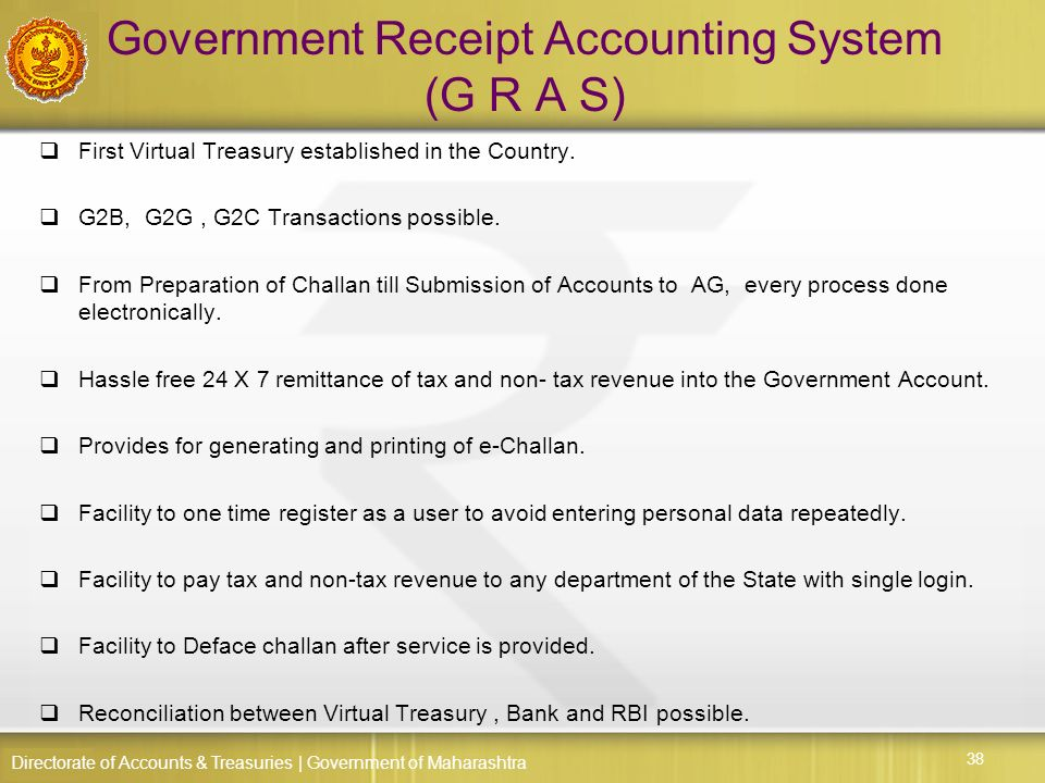 a review of the government accounting system Accounting system allows the government to manage its finances smoothly  reviewed media reports on government accounting standards.