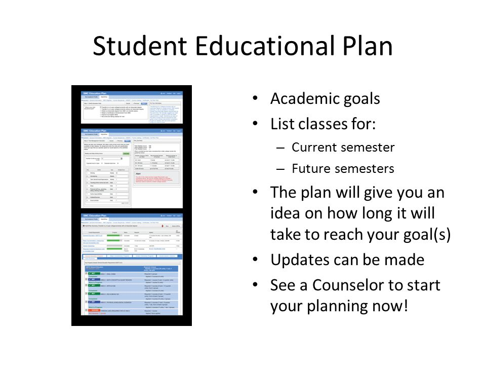 student future plans 22120 career advising and student success plans  career interests, explore  career and education options and develop an individual plan for their future.