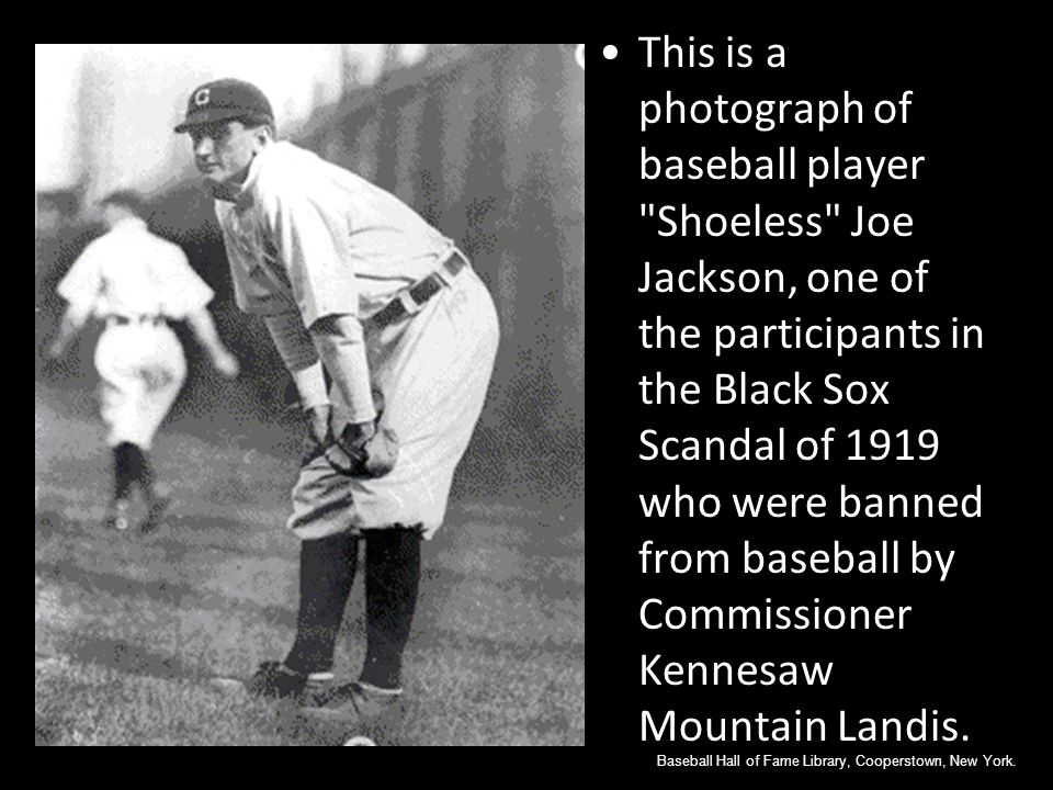 Chicago Black Sox Scandal
