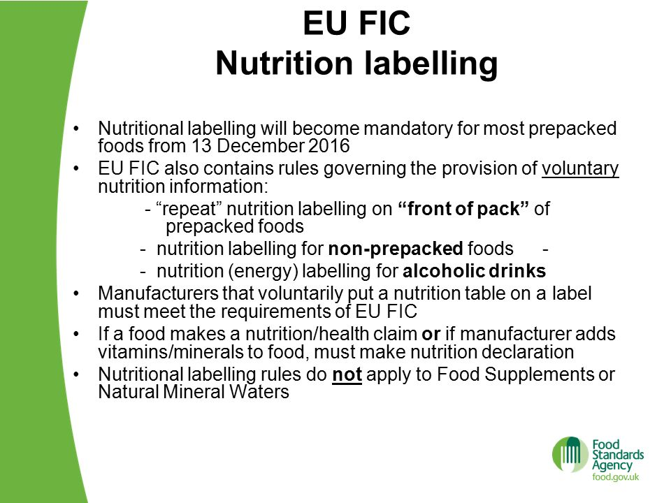 how to read eu nutrition labels