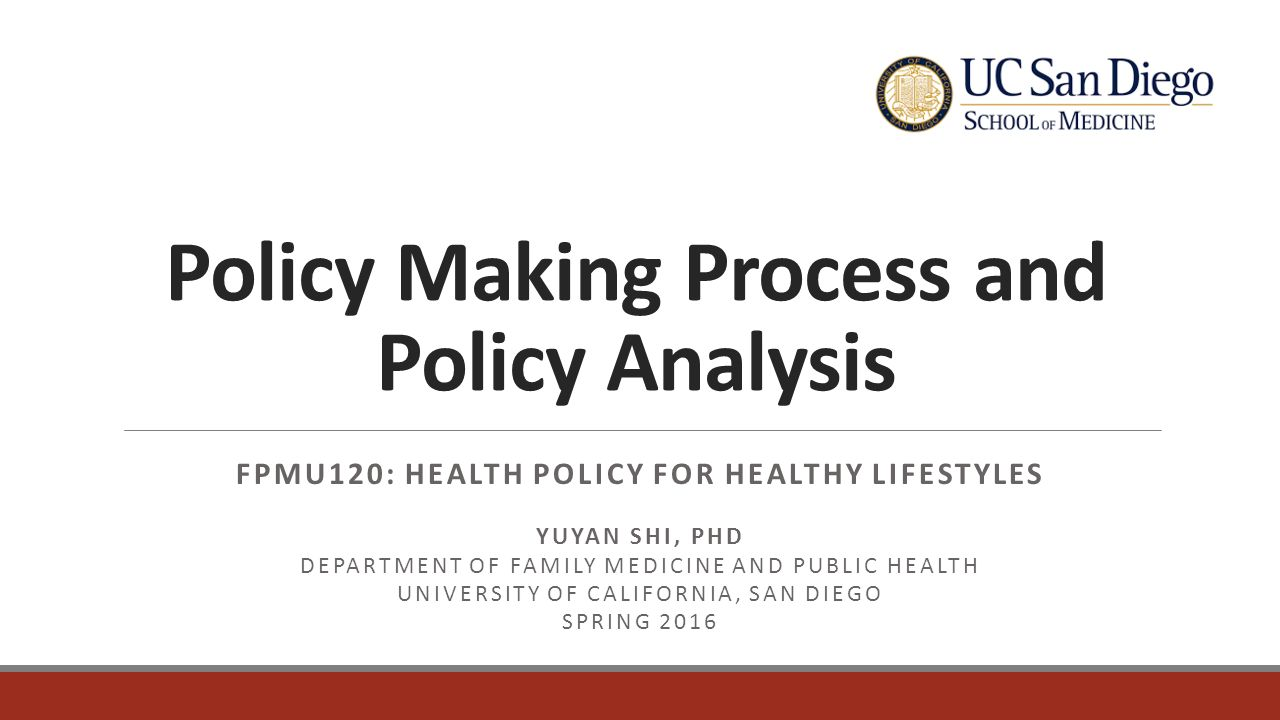 health policy anaylsis The international association of health policy (iahp) is an international network of scholars, health workers and activists with the aim of promoting the scientific analysis of public health issues.
