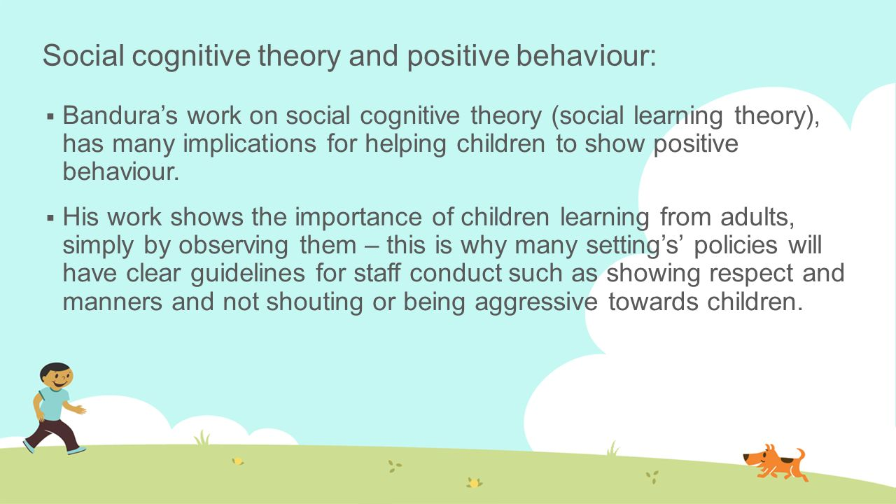 social cognitive learning theory pdf