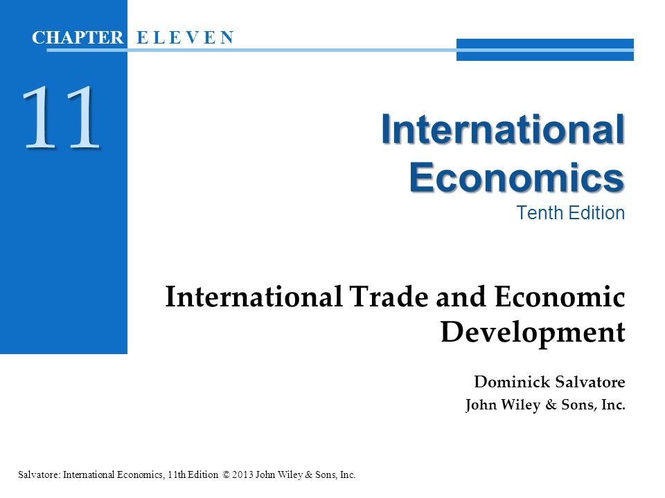 international economics terms of trade