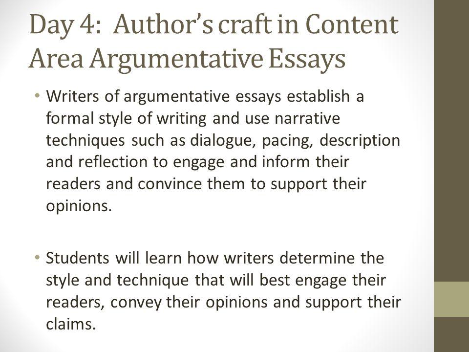 Argumentative Essay Immersion. - ppt video online download