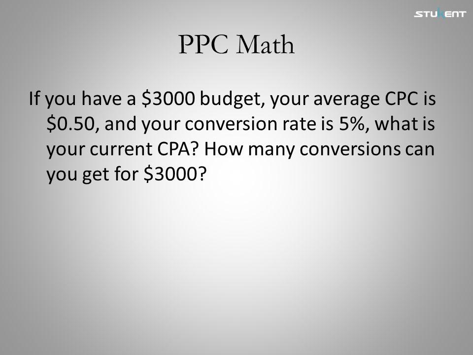 PPC Math
