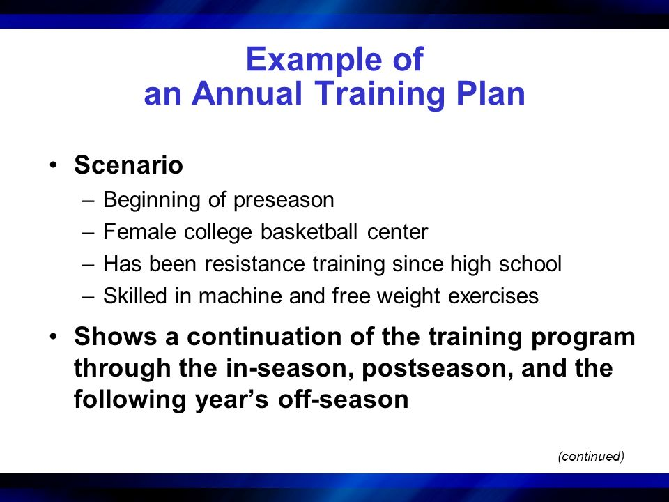 college basketball weight training program pdf