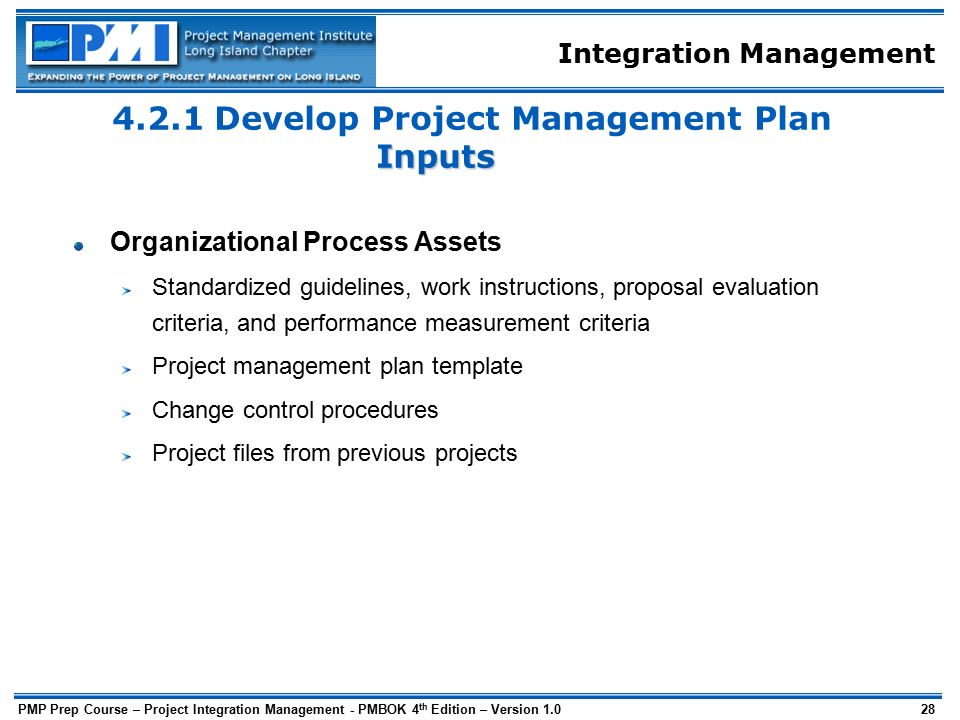 Project integration management ppt download for Project integration management plan template