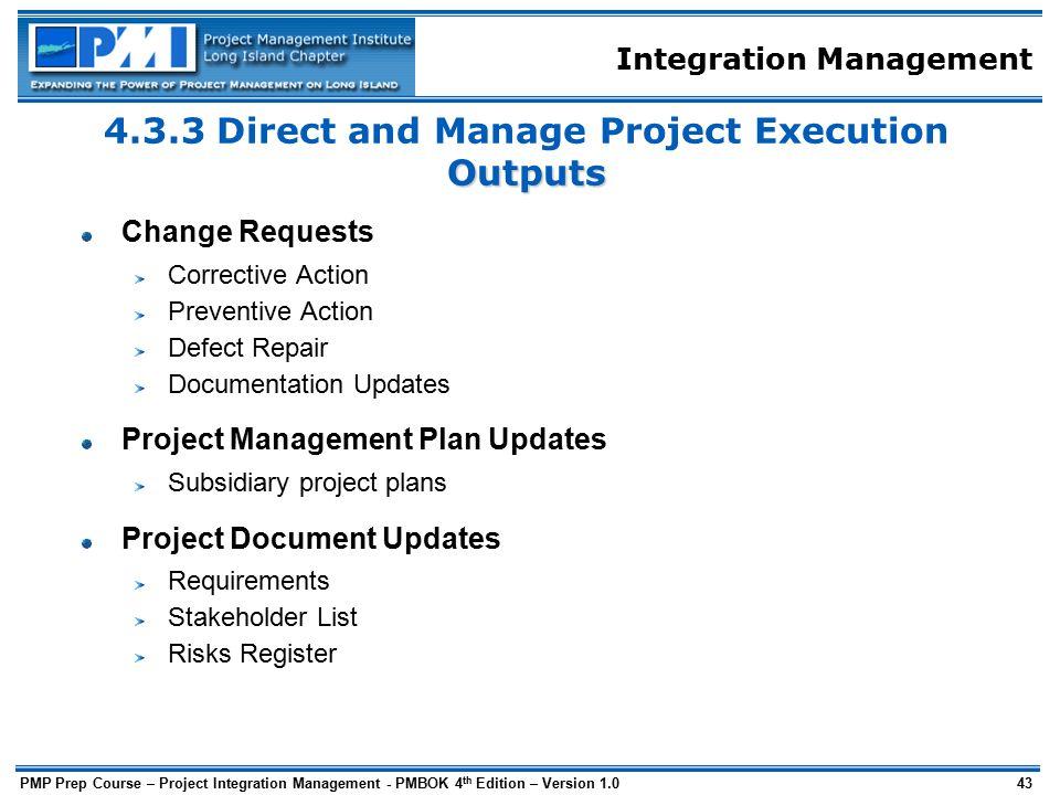 Project Integration Management - ppt download