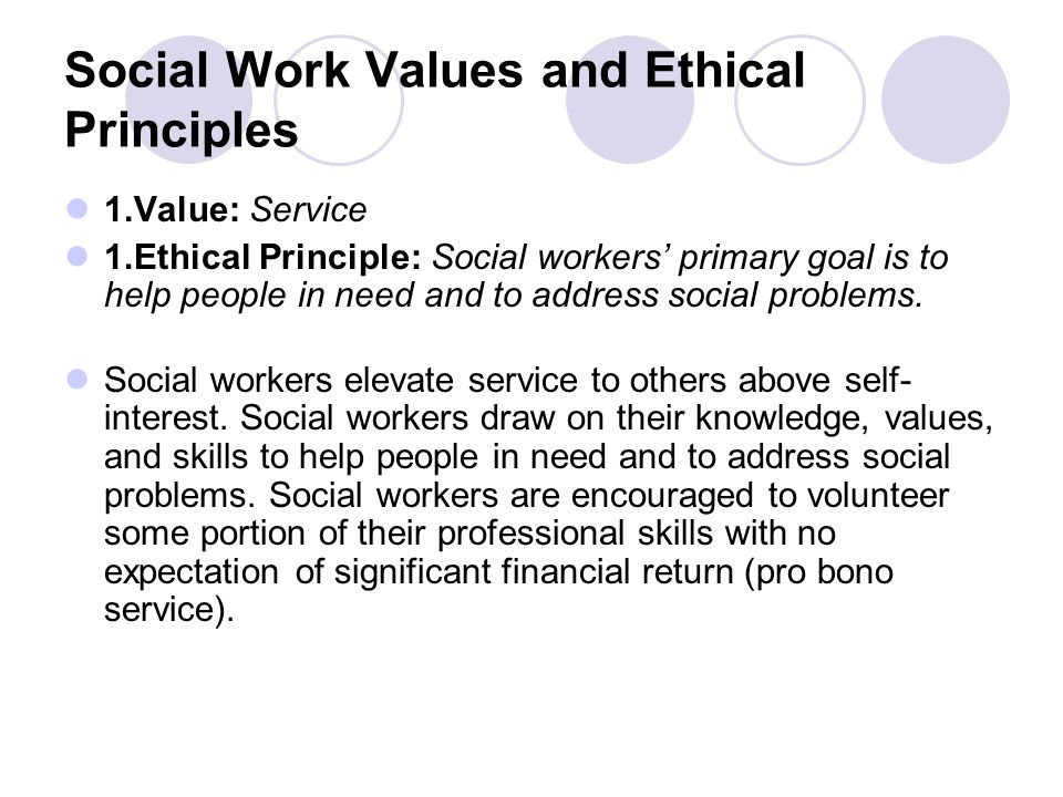 What Is the Social Work Code of Ethics?