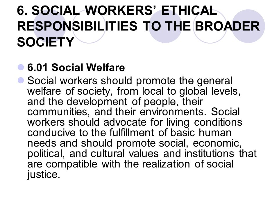 responsibilities to society This training module, reworked from a piece by the news manual, is for anyone starting a career in journalism although written almost 20 years ago, the section on.