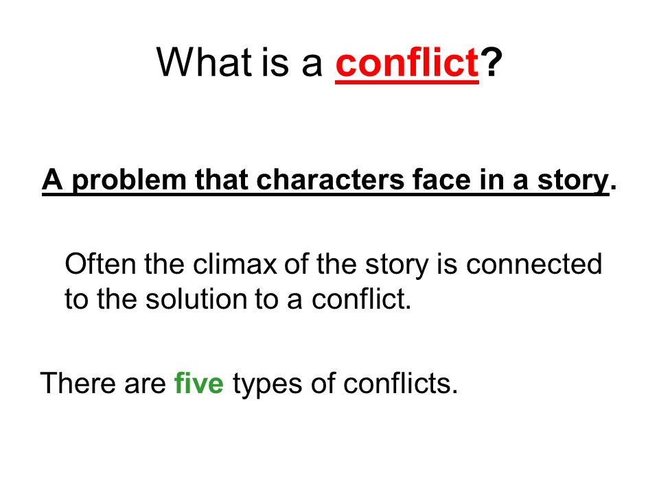 the three kinds of conflict within a story Galtung's theory provides us with three levels of violence, leading us to three  different potential forms of conflict in response to this, i propose a philosophical.
