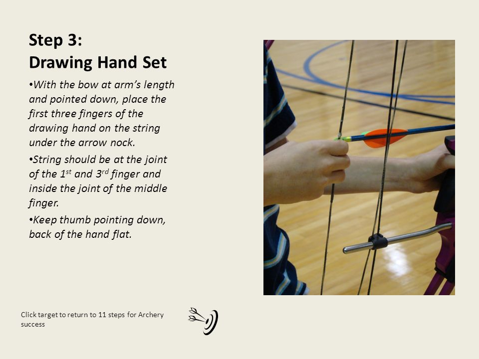 Arrow Pointing Down >> National Archery in the Schools Program - ppt video online download