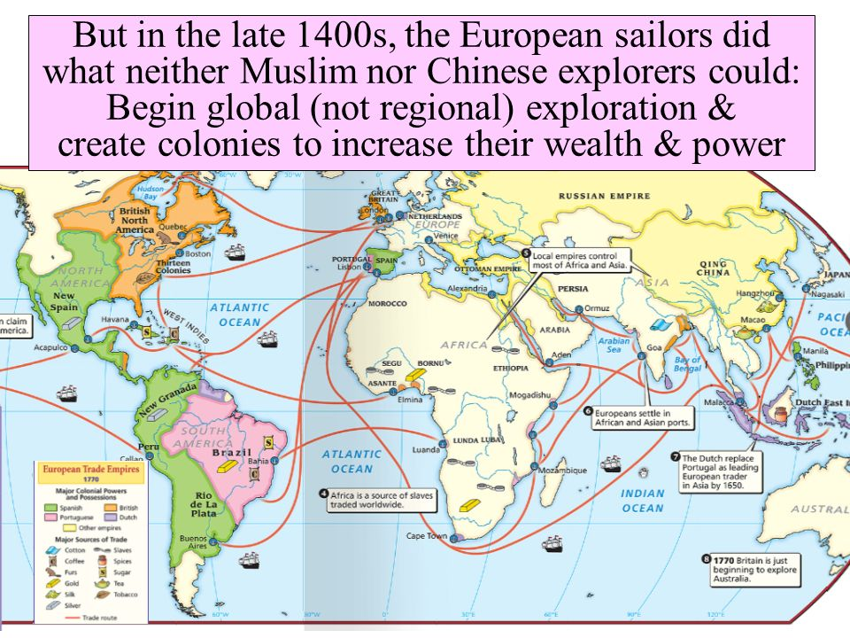 why europeans began exploring and colonizing in the 1400s and 1500s Chapter 3: european exploration and colonization  the stronger countries in europe in the 1400s and 1500s -  time when ferdinand magellan began his exploration - in.