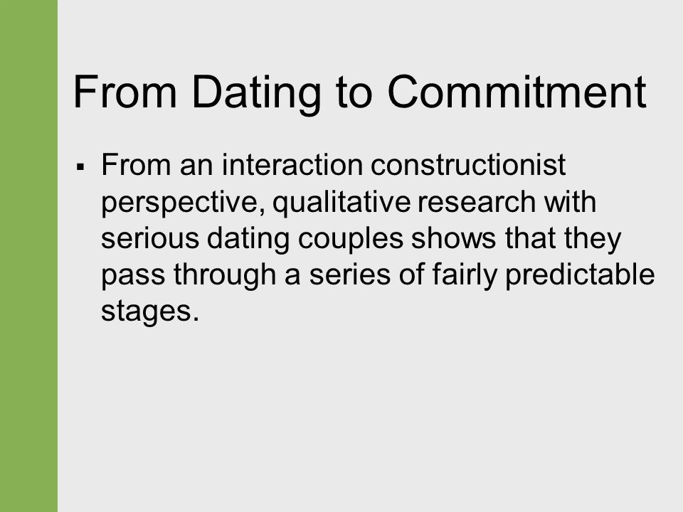 trust and commitment issues dating