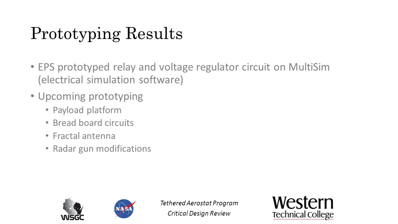 Western Aerostat Fliers Critical Design Review ppt video online