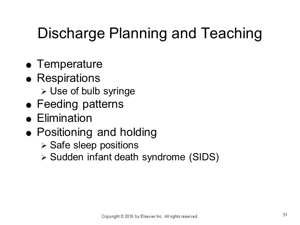 Discharge Teaching Car Seat Safety
