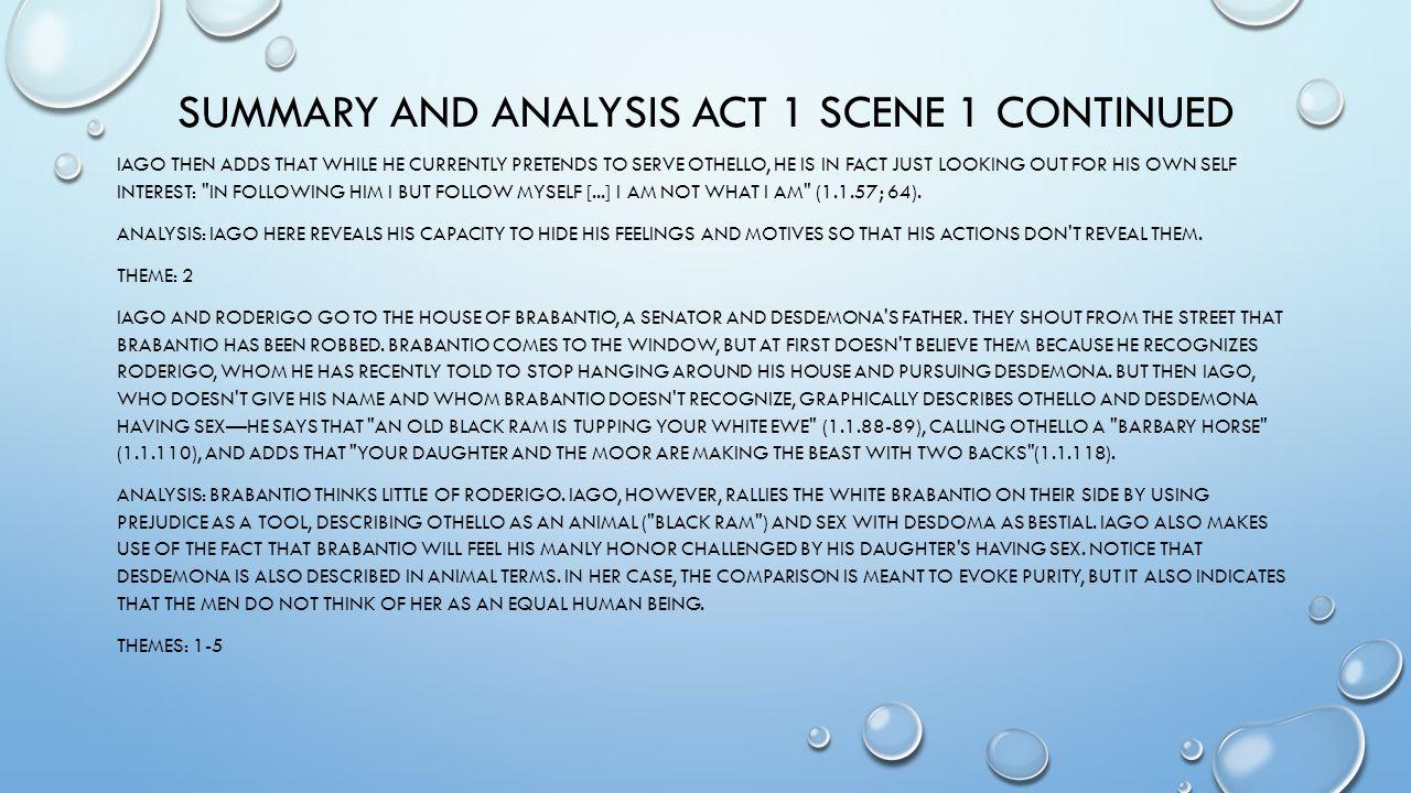 describe act 1 scene 1 othello