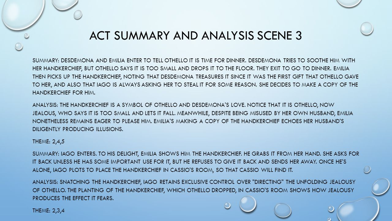 critical essay othello summary Need help with act 1, scene 3 in william shakespeare's othello check out our revolutionary side-by-side summary and analysis.