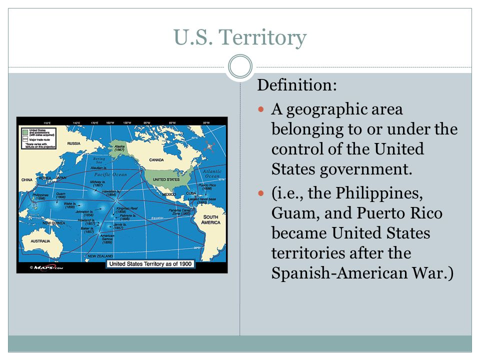 US Imperialism Vocabulary List Ppt Download - Map us territories guam puerto rico