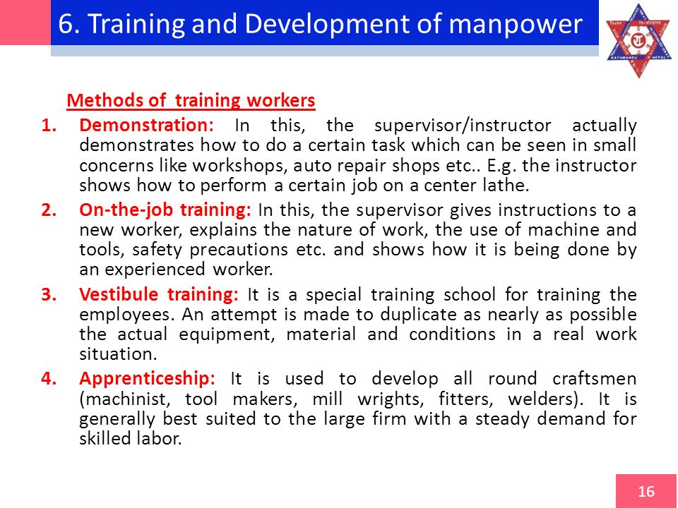training and manpower development Training & manpower development bowalds energy recognises the competency  challenge in the industry that is why one of our key offerings is the delivery of.