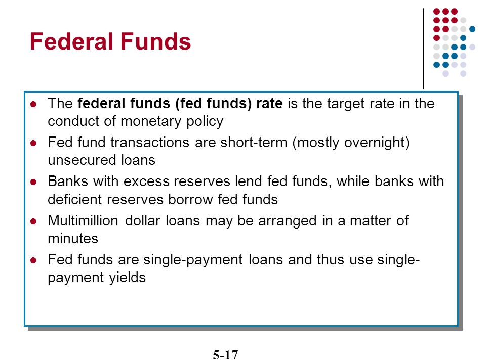 federal funds a short term loan Chapter 2 practice problems multiple choice  _____ are short-term loans in which treasury bills serve as collateral a)federal funds b).