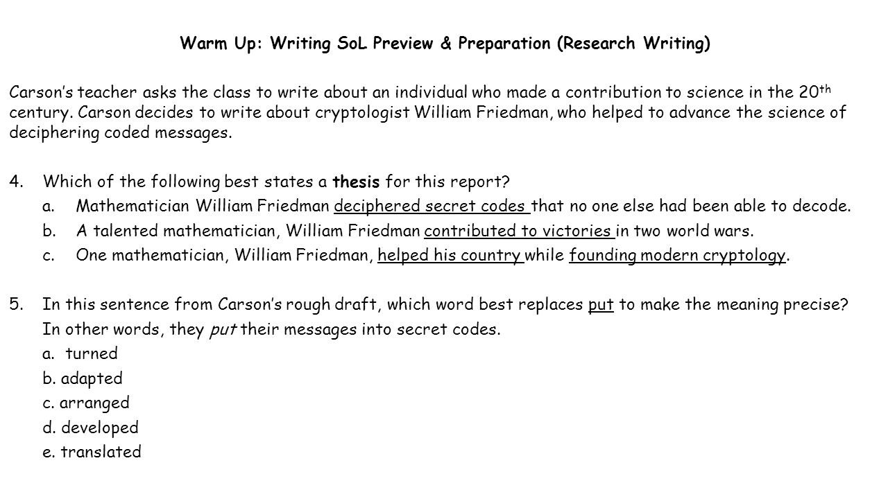 writing class warm up We've built over 300 research-based writing, grammar, and proofreading  tend  to assign quill activities as a warm up exercise at the beginning of a class or as.