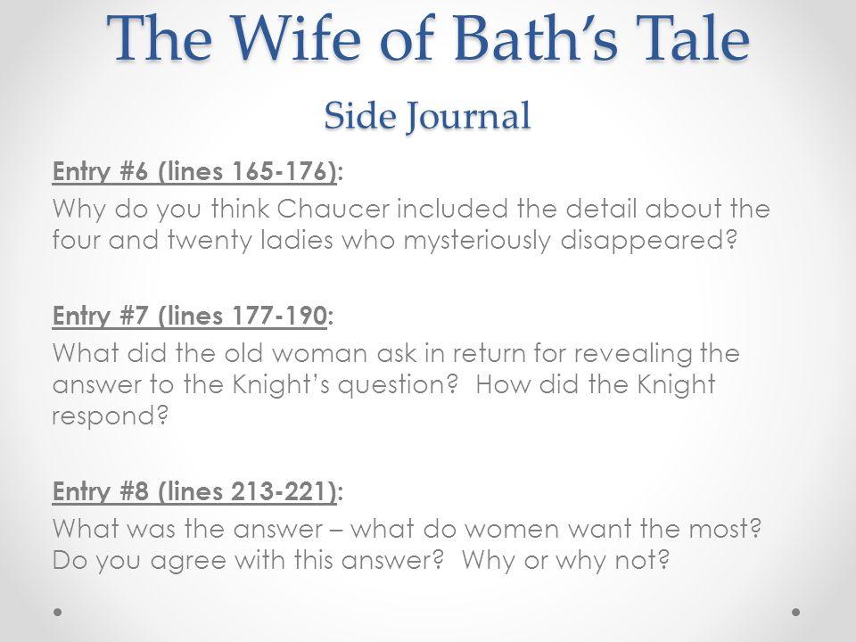 wife of bath essays