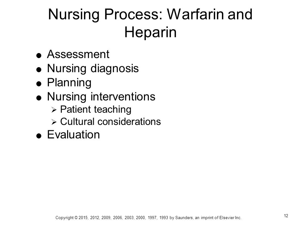 how to explain warfarin to a patient nursing