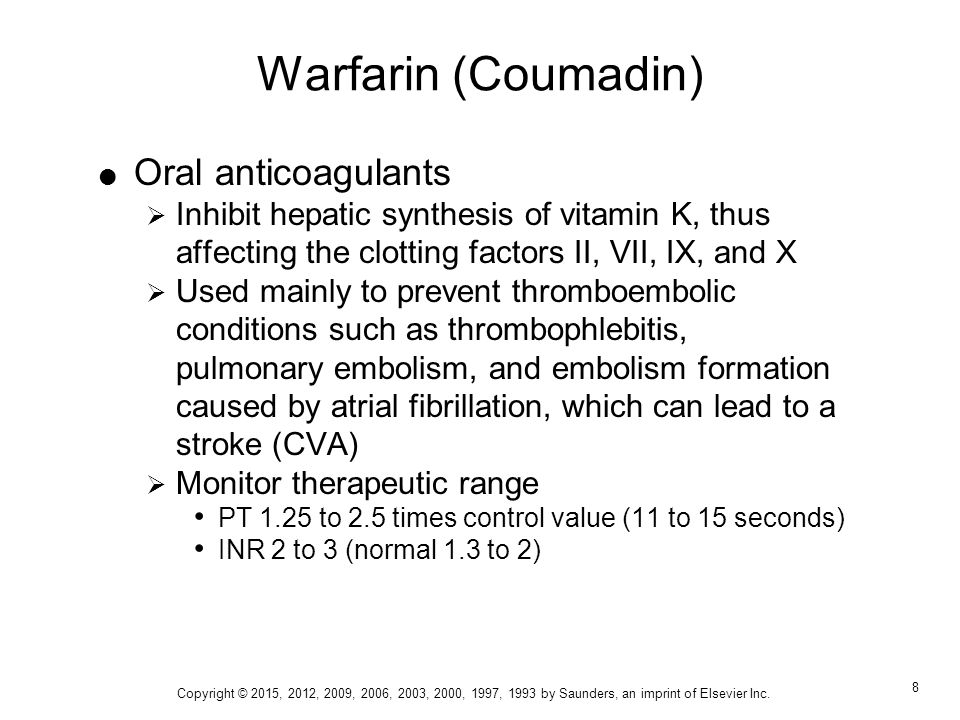 warfarin oral anticoagulant to prevent atrial fibrillation Anticoagulation in atrial fibrillation parag p patel,  oral anticoagulant or aspirin may be considered   warfarin is a vitamin k antagonist in use since the.