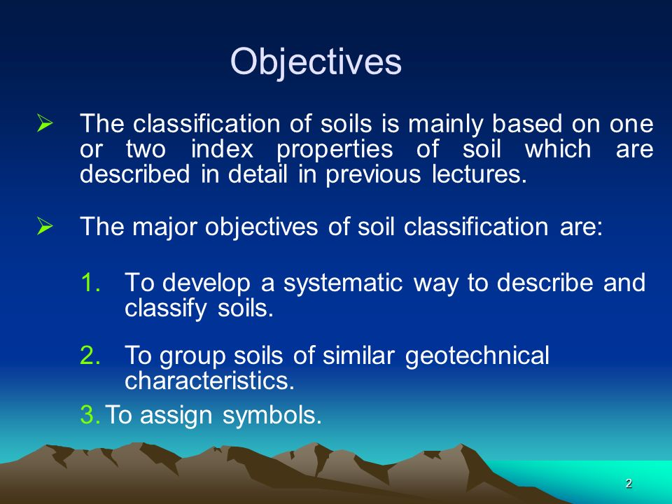 Soil classification prof basuony el garhy ppt video for Characteristics of soil