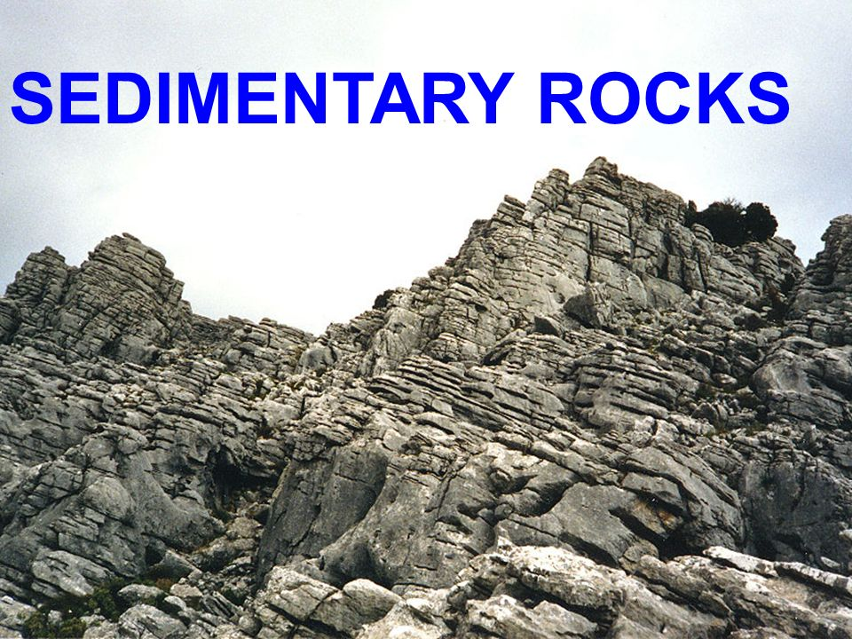 Ppt on sedimentary rocks formation
