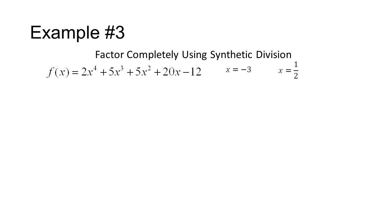 synthetic division worksheets - Termolak