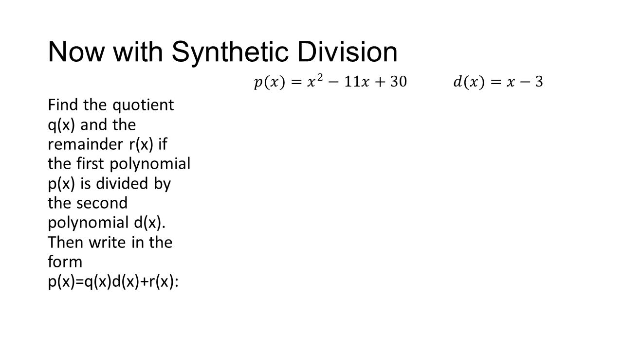 Worksheets Long Division Polynomials Worksheet polynomial synthetic division ppt download now with division