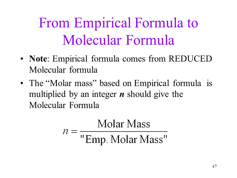 Mole, Avogadro's Number Mass percent composition - ppt ...