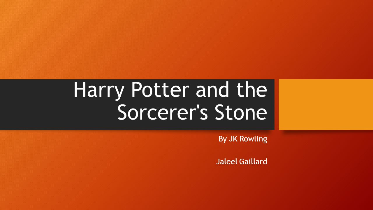 Harry potter and the sorcerers stone ppt video online download 1 harry toneelgroepblik Image collections