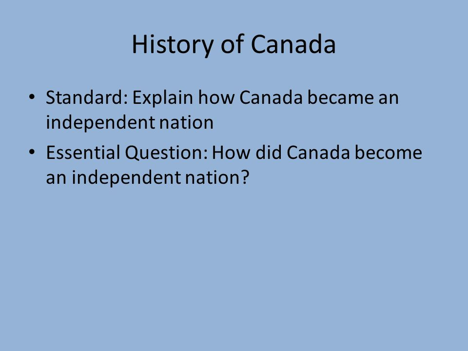 a history of french and english canadians The evolution of english–french bilingualism in canada from 1961 to 2011 statistics on the rate of bilingualism note 1 have a long history in canada.