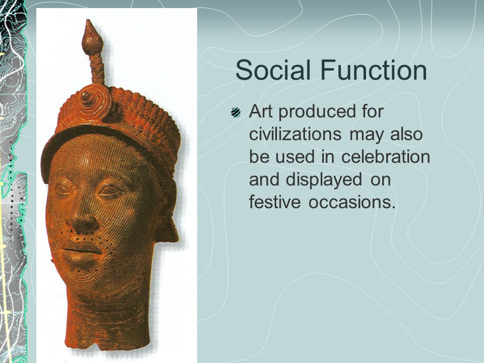six social functions of art Business processes and busiiness functions 52 monthly labor review • december 2008 job losses in the united states had become a regular topic.
