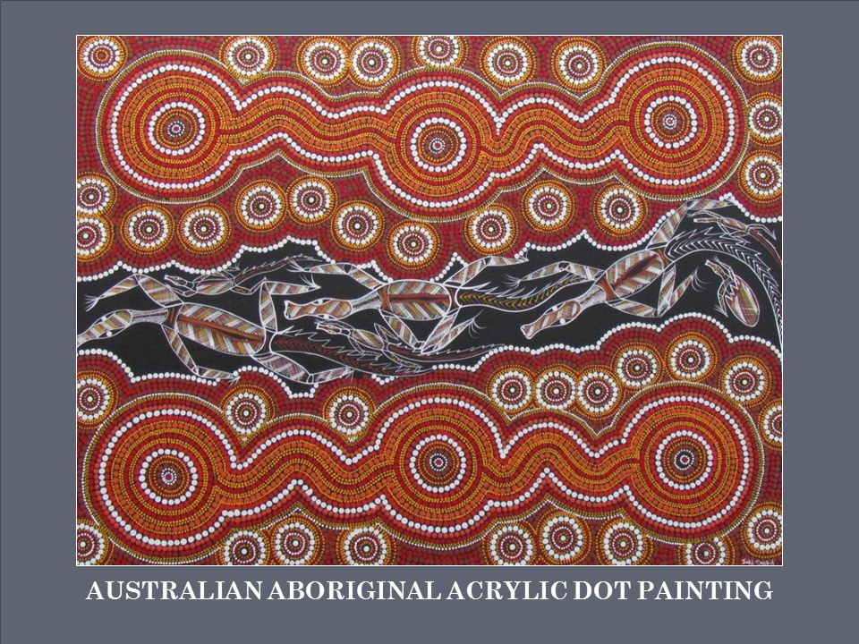 Australian Aboriginal Acrylic Dot Painting Ppt Video Online Download