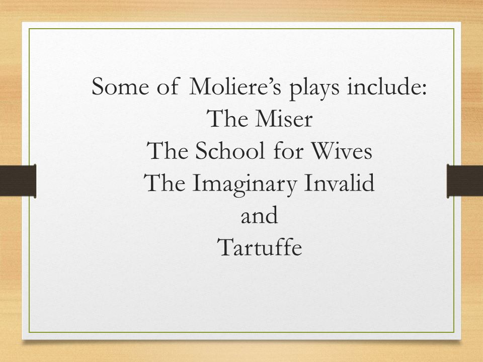 an analysis of the play the imaginary invalid by moliere Shakespeares an analysis of human era twelfth night is a play with themes is a literary analysis of the imaginary invalid by moliere an analysis of.