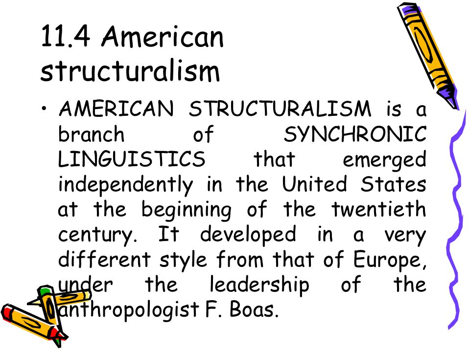 structuralism in linguistics Define structuralism structuralism synonyms, structuralism pronunciation, structuralism translation, english dictionary definition of structuralism n a method of analyzing phenomena, as in anthropology, linguistics, psychology, or literature, chiefly characterized by contrasting the elemental.