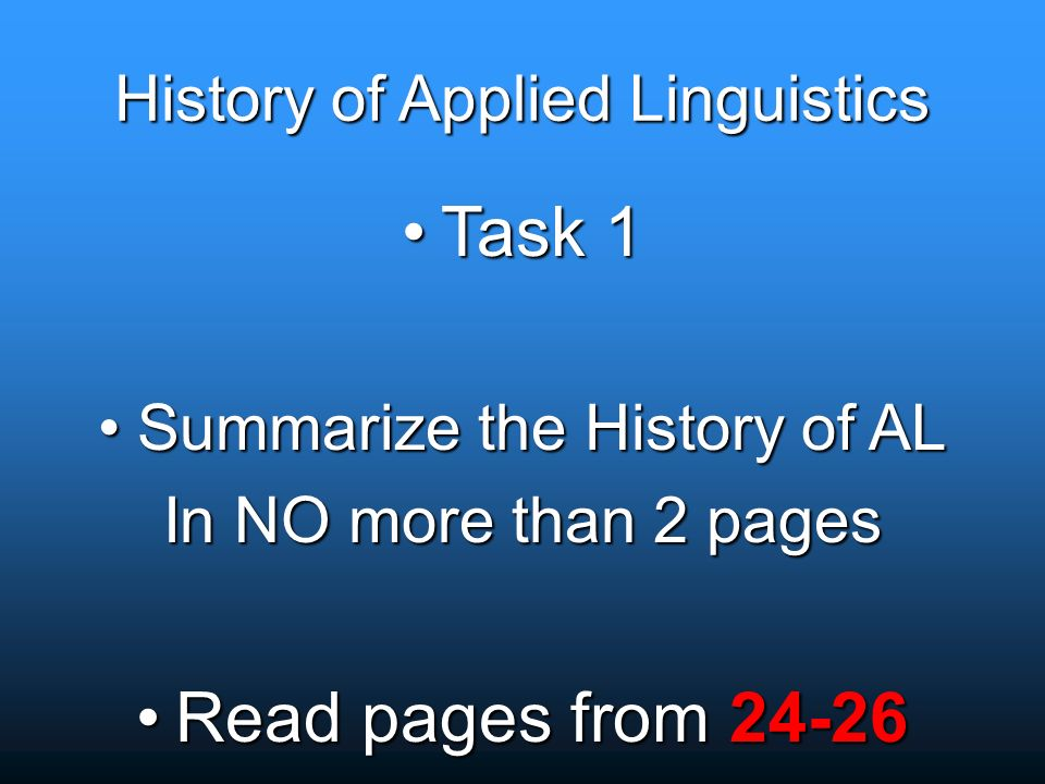 The history of linguistics